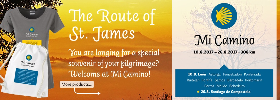 The Route of St. James: You are longing for a special souvenir of your pilgrimage? Welcome at Mi Camino!